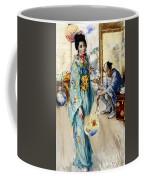 The Lady And Sada San Coffee Mug