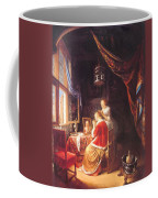 The Lady At Her Dressing Table 1667 Coffee Mug