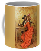 The Lady In Red Coffee Mug
