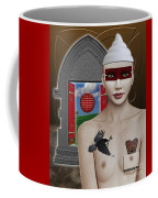 The Lady In Waiting Coffee Mug by Keith Dillon