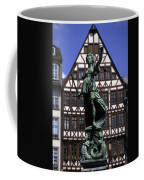 The Lady Of Justice And Her Scales Coffee Mug by Taylor S. Kennedy