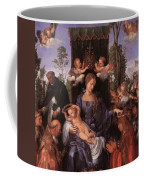 The Lady Of The Festival Du Rosaire Fragment Coffee Mug