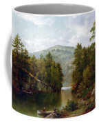 The Lake George Coffee Mug by David Johnson