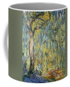The Large Willow At Giverny Coffee Mug