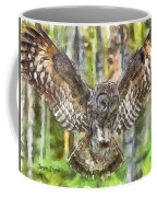 The Largest Owl Coffee Mug