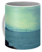 The Last Bridge Before The Ocean   Coffee Mug