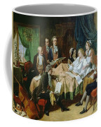 The Last Hours Of Mozart 1756-91 Henry Nelson Oneil Coffee Mug