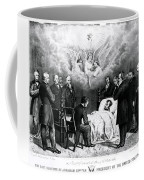 The Last Moments Of President Lincoln Coffee Mug by Photo Researchers