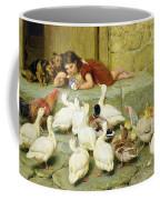 The Last Spoonful Coffee Mug by Briton Riviere