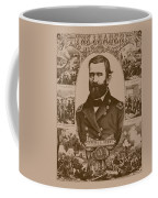 The Leader And His Battles - General Grant Coffee Mug