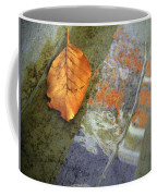 The Leaf And The Reflections Coffee Mug
