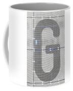The Letter G Coffee Mug