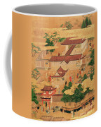 The Life And Pastimes Of The Japanese Court - Tosa School - Edo Period Coffee Mug