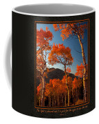 The Light Is Good Coffee Mug