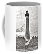 The Lighthouse At Cape May Coffee Mug