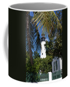The Lighthouse In Key West II Coffee Mug