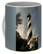 The Lighthouse In St.augustin Fl Coffee Mug