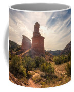 The Lighthouse - Palo Duro Canyon Texas Coffee Mug