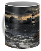 The Lighthouse Storm Coffee Mug