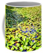 The Lily Pond #2 Coffee Mug
