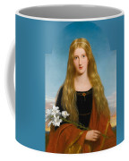 The Lily. Portrait Of Miss Bury Coffee Mug