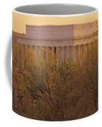 The Lincoln Memorial, Seen Coffee Mug