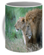 The Lion And His Lioness Coffee Mug