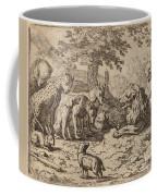 The Lion Seeks Advice Coffee Mug