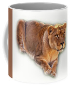 The Lioness - Vignette Coffee Mug