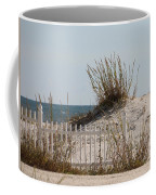 The Little Dune And The White Picket Fence Coffee Mug