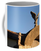 The Little Lion And The Soaring Eagle Who Watches Over Him Coffee Mug