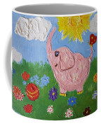 Little Pink Elephant Coffee Mug