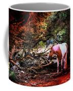The Little Pink Unicorn By Pedro Cardona Coffee Mug