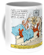 The Lobster Bed. Coffee Mug