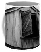 The Loft Door In Black And White Coffee Mug