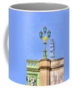 The London Eye And Westminster Bridge Coffee Mug