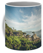 The Lone Cypress Coffee Mug by Margaret Pitcher