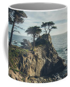 The Lone Cypress No.2 Coffee Mug by Margaret Pitcher