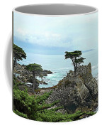 The Lone Cypress Stands Alone Coffee Mug