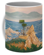 The Lone Cypress Tree Coffee Mug