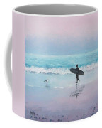 The Lone Surfer 2 Coffee Mug