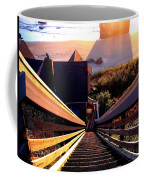 The Long Long Stairway    Coffee Mug