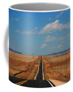 The Long Road To Santa Fe Coffee Mug
