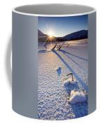 The Long Shadows Of Winter Coffee Mug