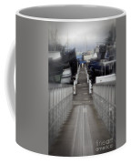 The Long Walk To Work Coffee Mug
