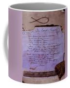 The Lord's Prayer Collage Coffee Mug