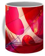 Hearts A' Fire - The Love Hot Air Balloon Coffee Mug