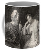 The Love Letter Engraved By Charles Coffee Mug