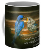 The Love Of A Father Coffee Mug