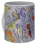 The Lovers In Blue Coffee Mug